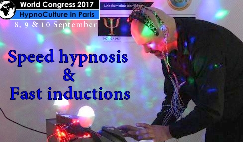 Speed hypnosis and fast inductions.